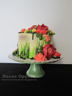 Buttercream Cake and Dream Flowers
