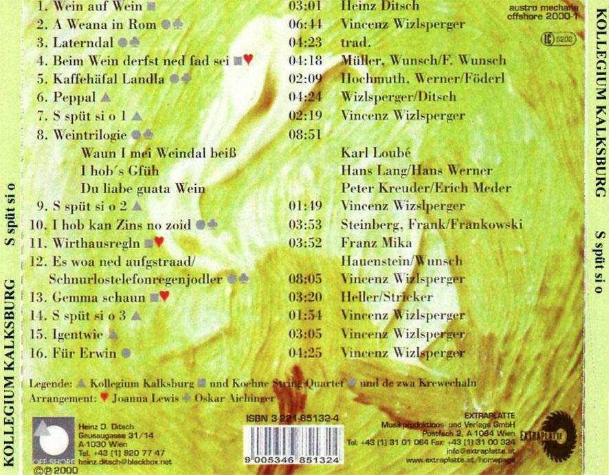 Koehne String Quartet - Thomas Pernes Streichquartette