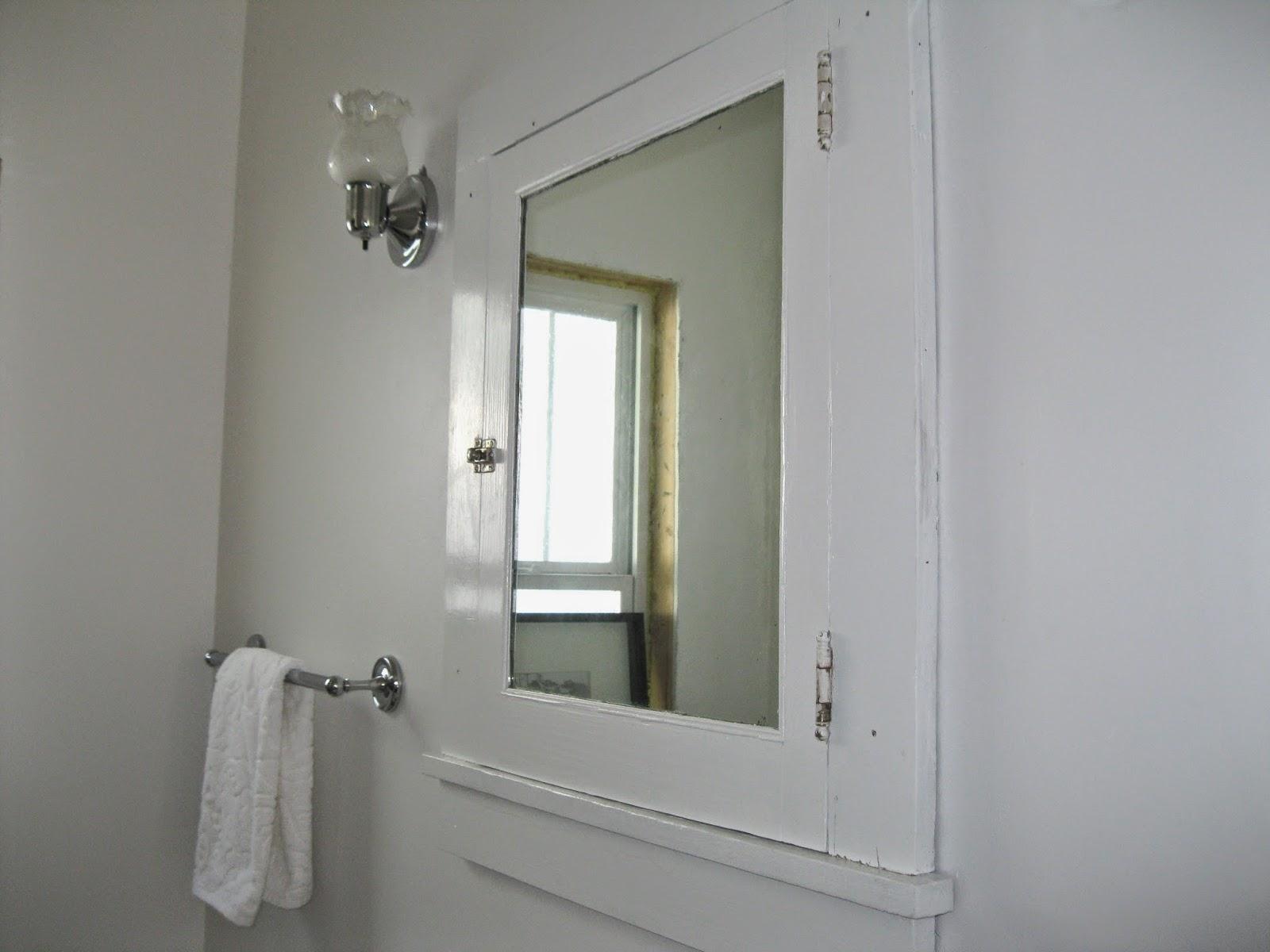 Apron History Bathroom Medicine Cabinet