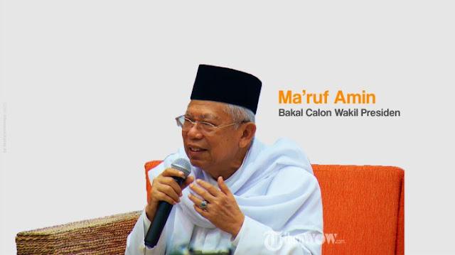 Maruf Amin Janjikan Lebih Banyak Infrastruktur yang Dibangun Jika Jokowi Terpilih Kembali
