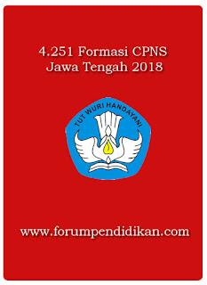 Formasi CPNS Jawa Tengah | CPNS 2018