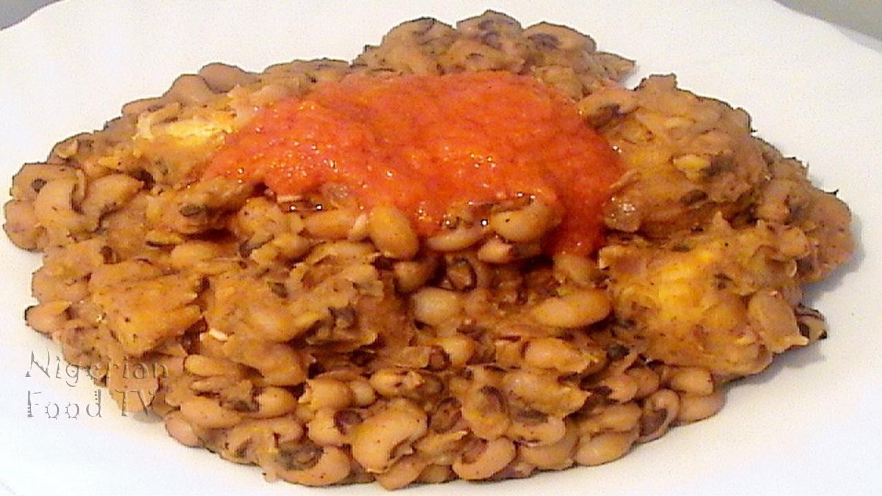 Nigerian Beans, Nigerian Plantain Porridge, Nigerian beans porridge