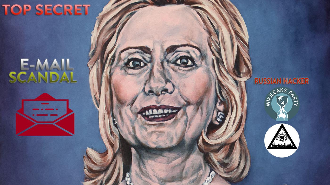 Vụ Scandal Chính trị mới ở Mỹ: Email của Hillary Clinton bị hacker Nga rò rỉ