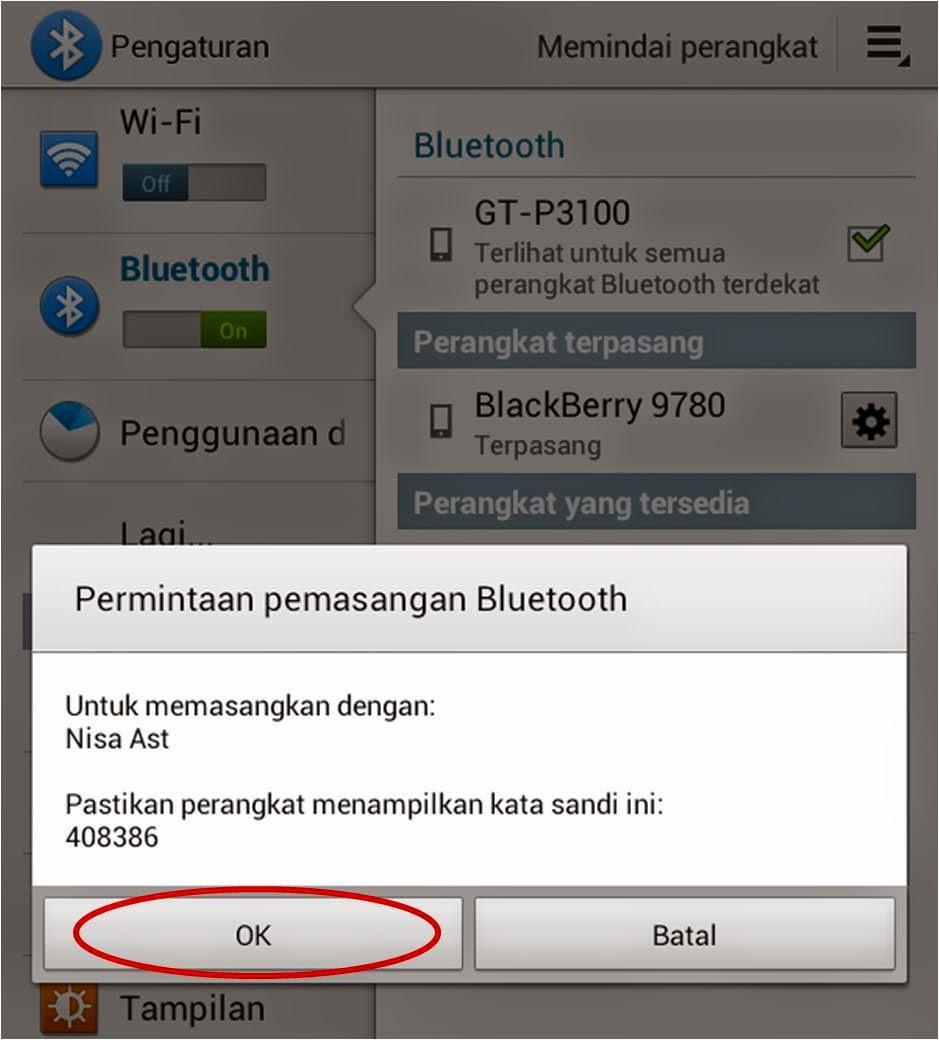 Cara Memasangkan Bluetooth di Android