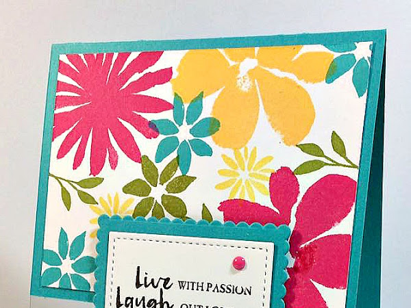 Blooms & Bliss Summer Card