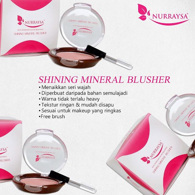Nurraysa Mineral Shining Blusher