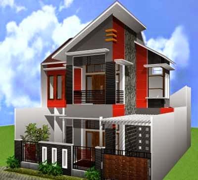 Terlihat Diatas Gambar Rumah Kecil Minimalis 2 Lantai Yang Cucup Berkesan Mewah Dan Modern Selain Itu Desain Tersebut Istimewa Dari
