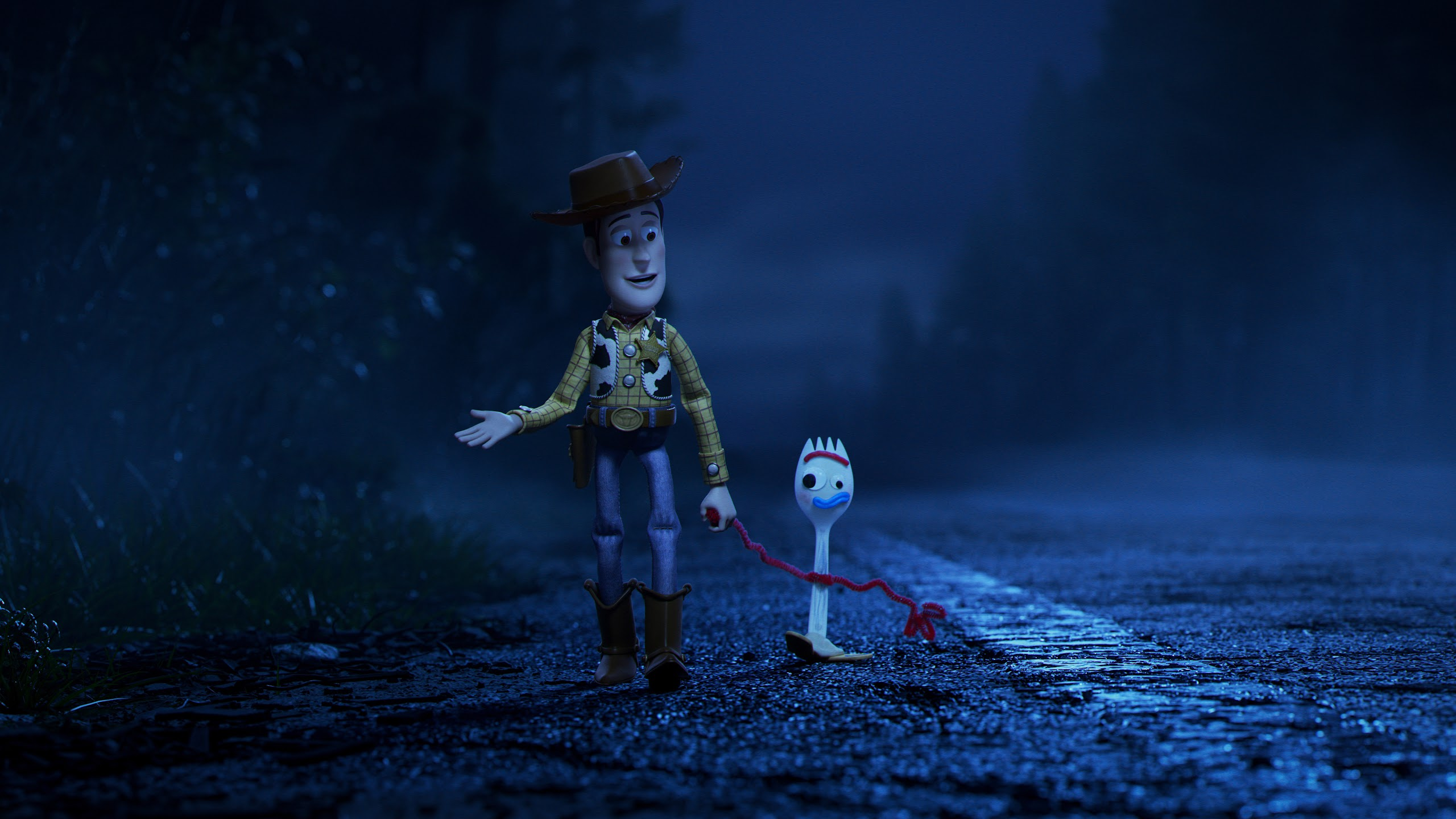 Toy Story 4 Woody And Forky 8k Wallpaper 13