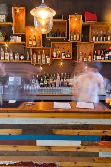 Pallet Coffee Bar Shelf