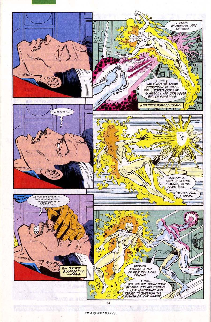 Read online Silver Surfer (1987) comic -  Issue #67 - 26