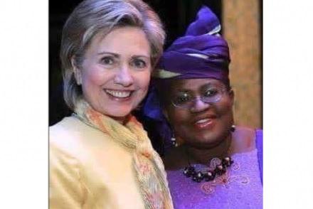 Ngozi-okonjo Iweala Takes Cute Selfie With US Presidential Candidate, Hillary Clinton