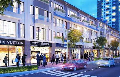 Trung tâm thương mại dự án La Casta Văn Phú Hà Đông