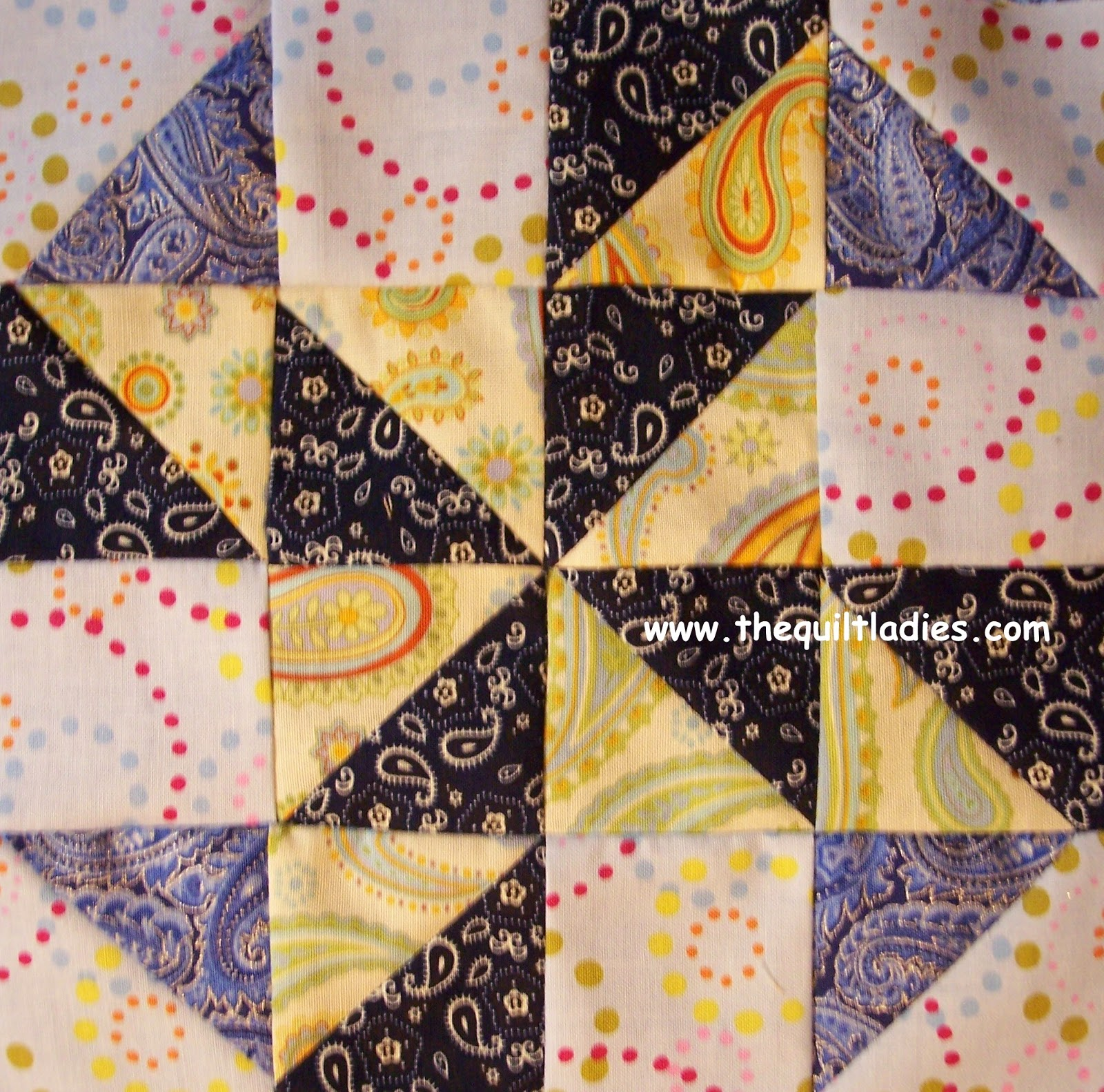 making a simple quilt block