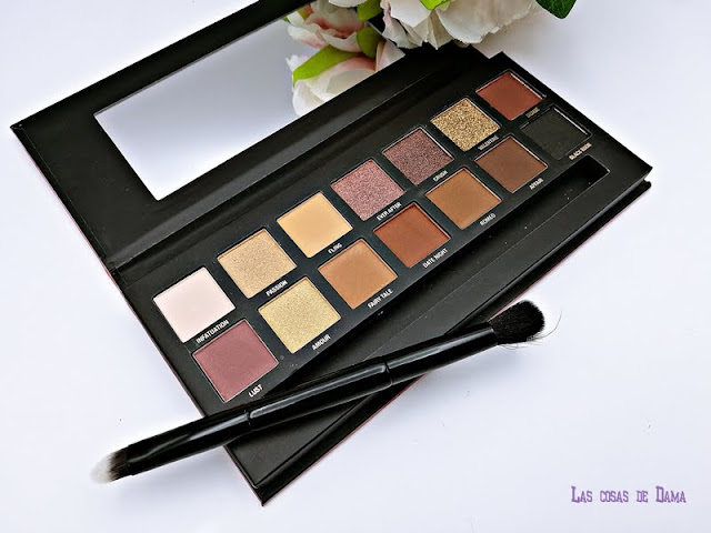 Romanced Eye Colour Palette W7 eyeshodow makeup maquillaje beauty sombras de ojos