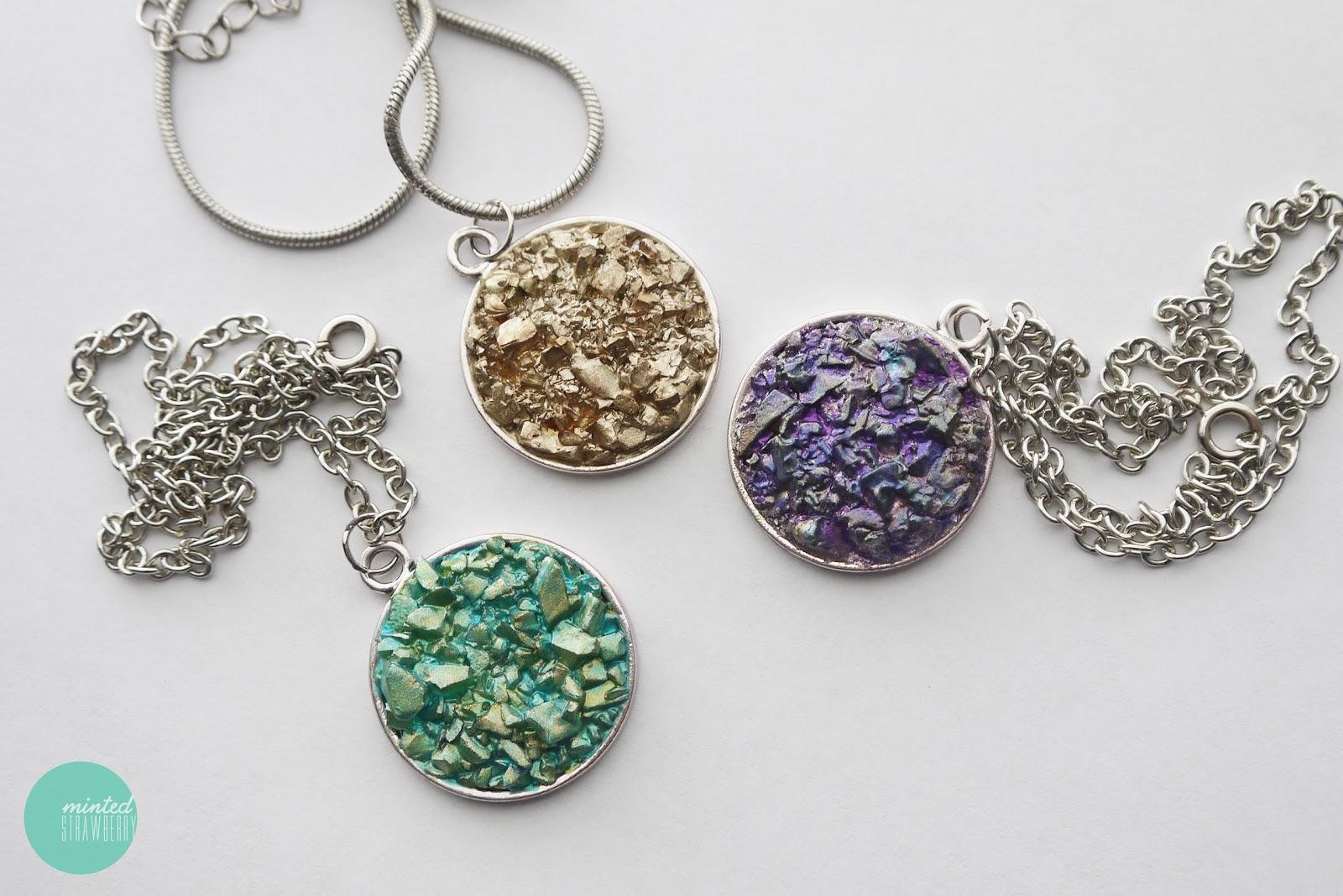 diy necklace pendant - photo #38