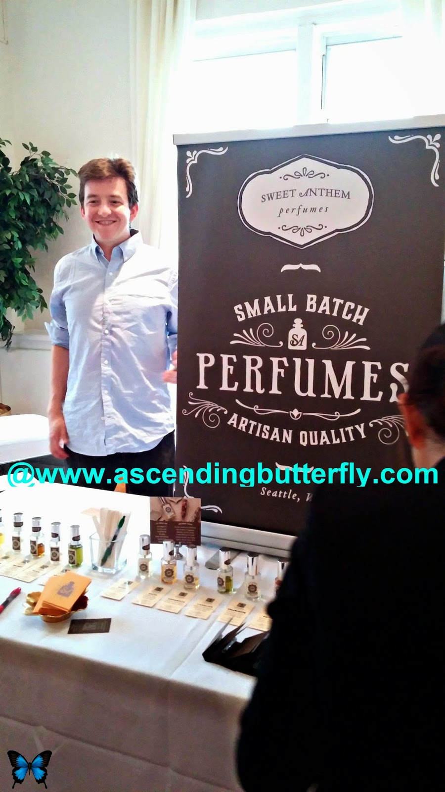 Sweet Anthem Perfumes at beautypress September 2014 Spotlight Day
