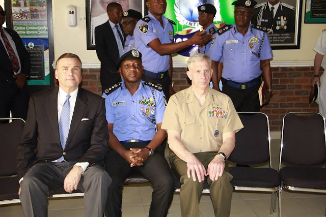COMMANDER OF AFRICOM VISITS IGP