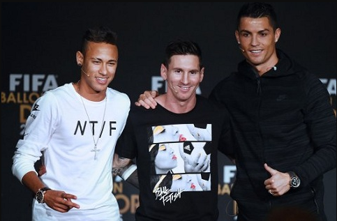 Profile dan tinggi badan lionel messi neymar jr dan cristiano ronaldo