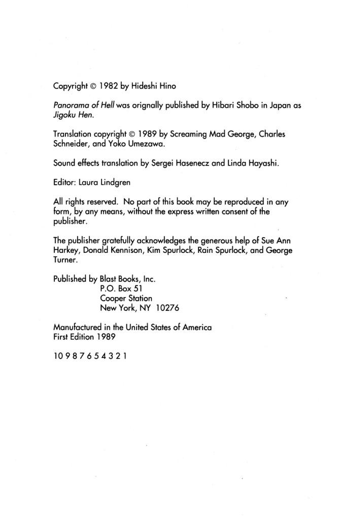 Panorama Of Hell chap 1 trang 5