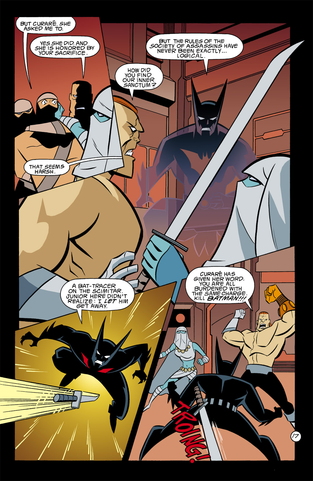 Batman Beyond [II] Issue #9 #9 - English 18