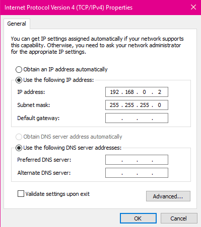 cara menyambungkan laptop dengan lan