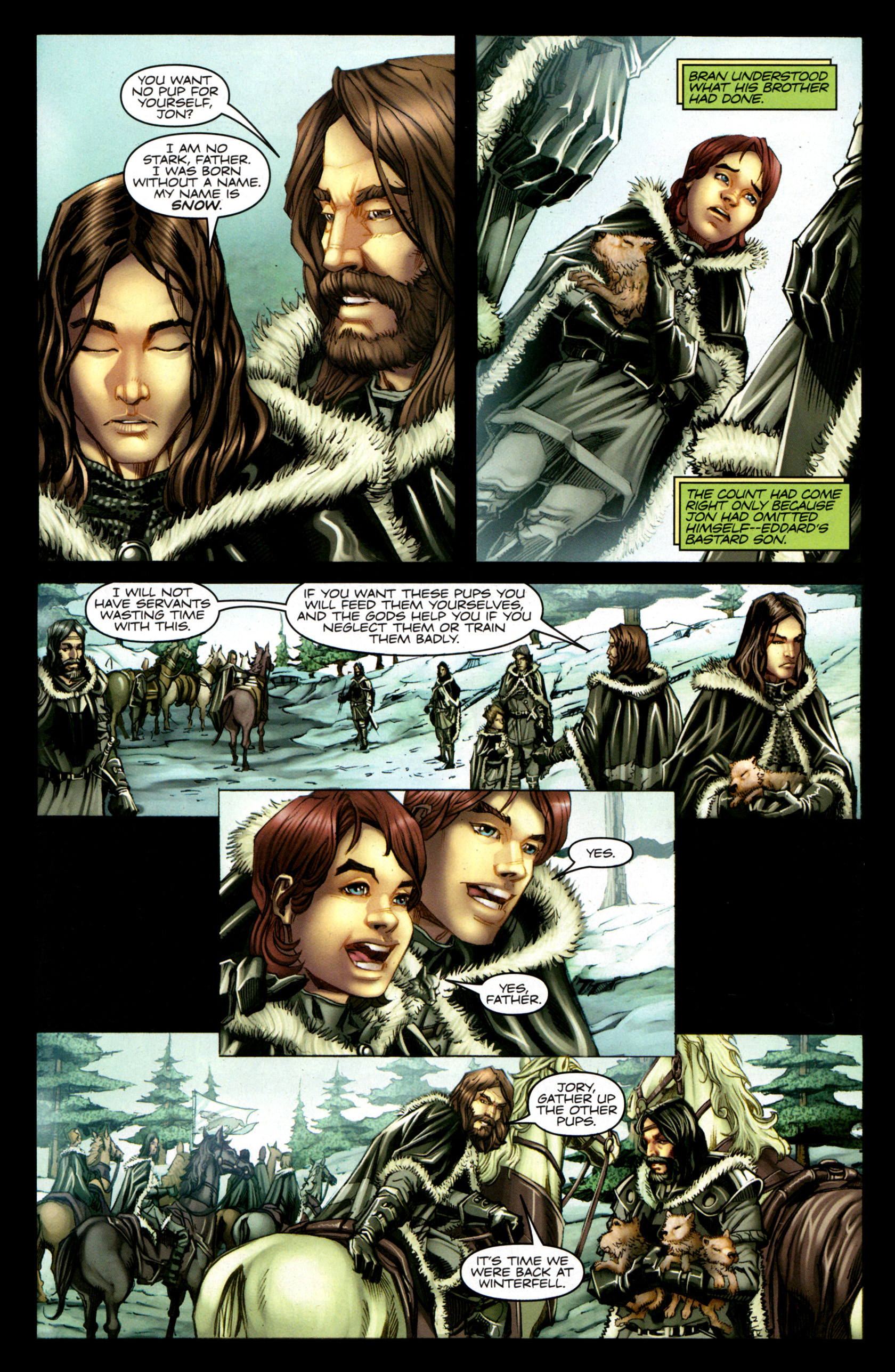 Read online A Game Of Thrones comic -  Issue #1 - 17