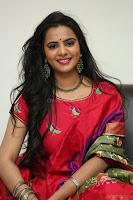 Manasa in Pink Salwar At Fashion Designer Son of Ladies Tailor Press Meet Pics ~  Exclusive 31.JPG