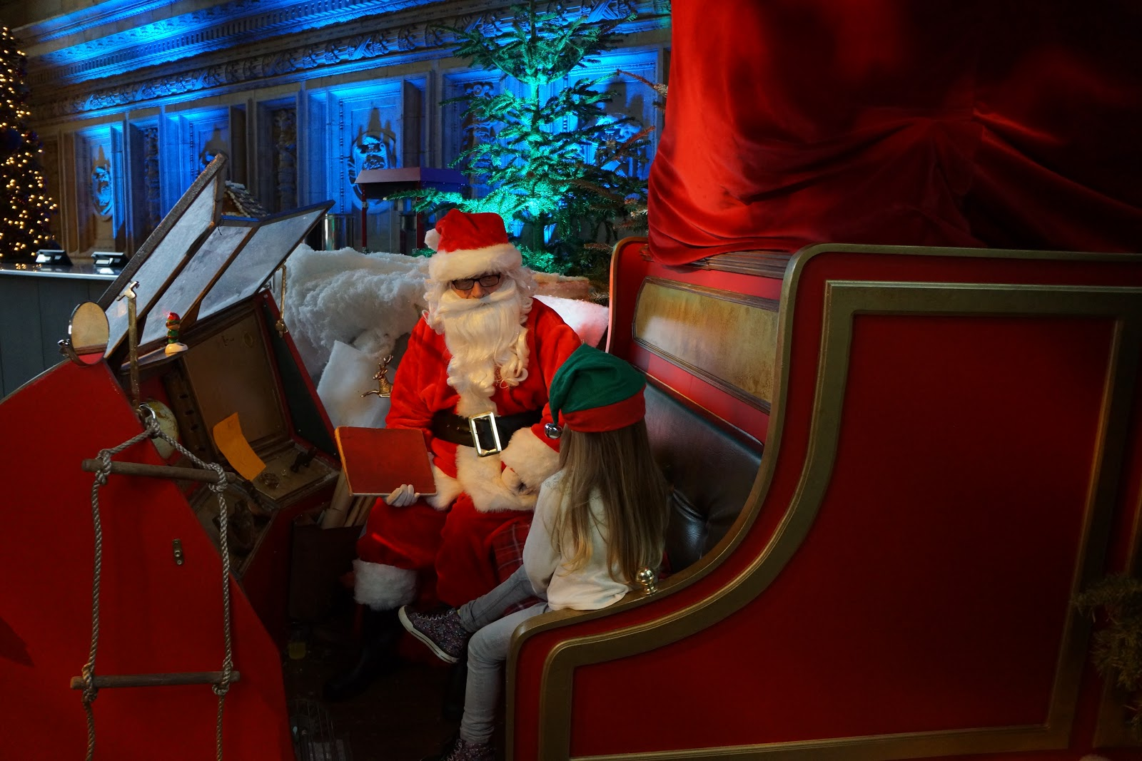 santa at royal albert hall