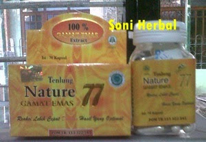 Gamat emas tenlung 77 pasti murah di madu herbal