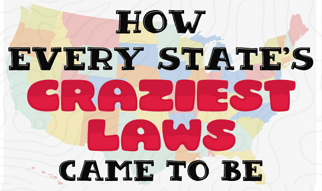 How the Craziest Laws in the United States Came To Be