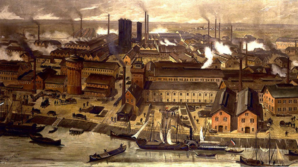 The Industrial Revolution Of Germany Searching In History
