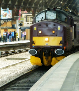 The diesel engine that actually pulled us to York