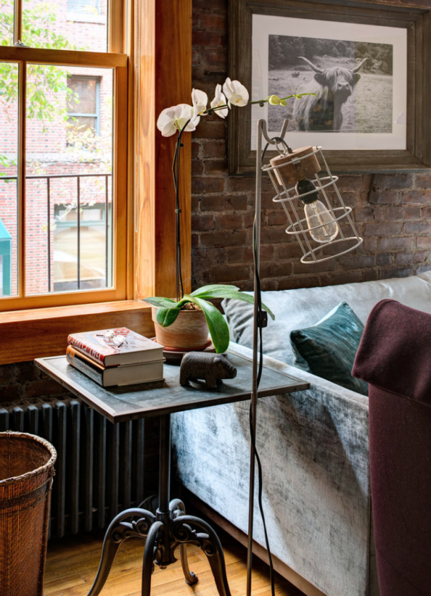 Interiors Rustic Apartment New York Cool Chic Style