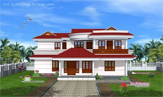 Double floor house