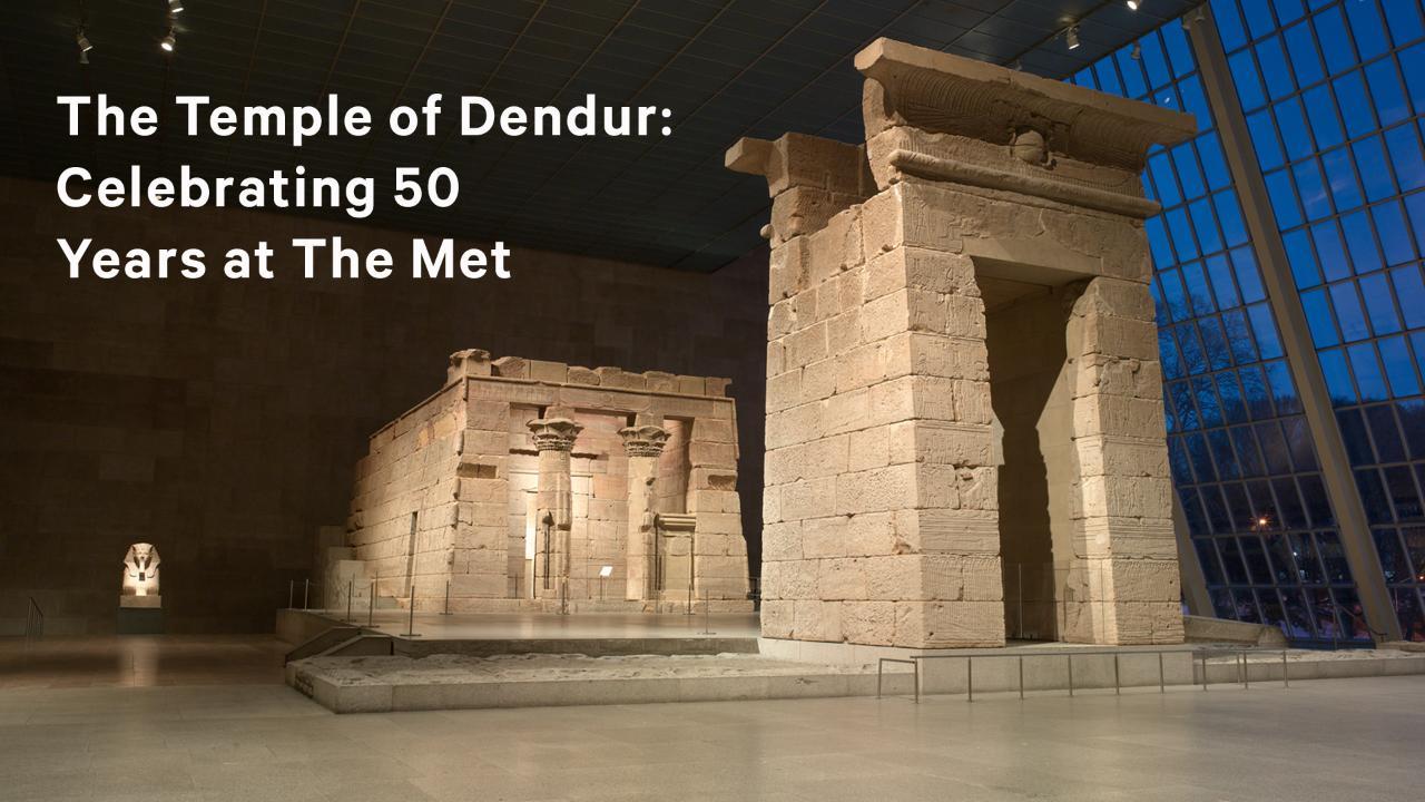 The temple of dendur descriptive essay