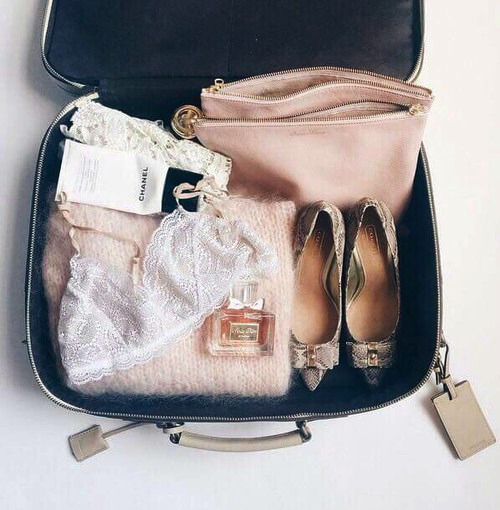 Pink Cute Suitcase Fashionable