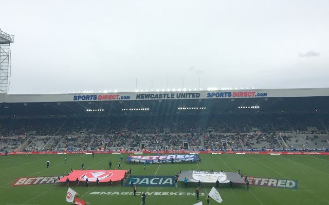 Magic weekend 2017 St James Park