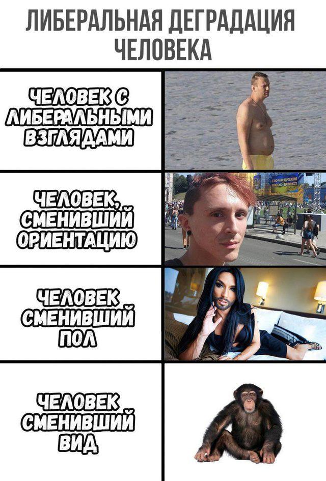 О деградации либерализма. Александр Роджерс