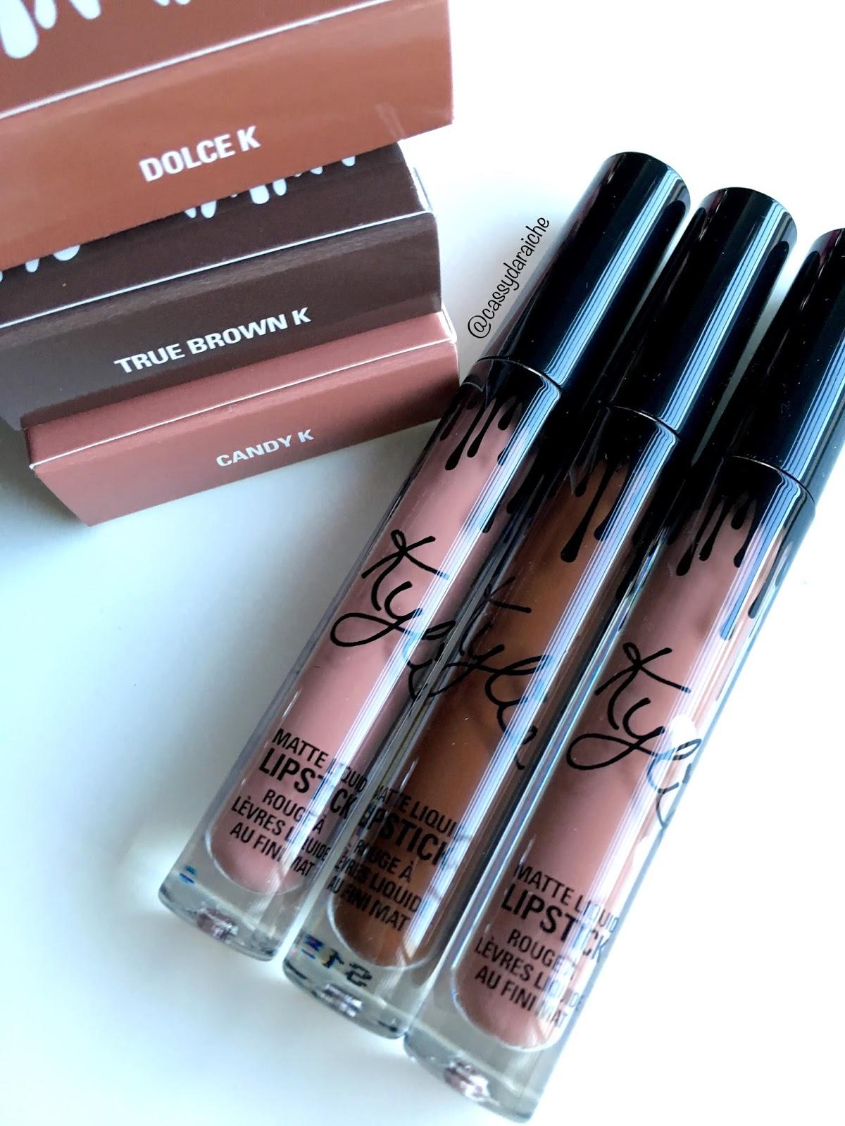 Cassy's Life In Lipstick: Kylie Jenner Dolce K Liquid Lipstick