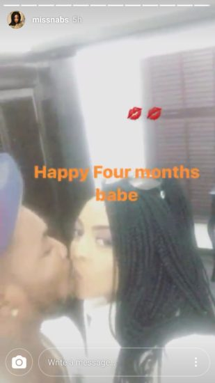 orits2 - ENTERTAINMENT: Oritsefemi Shares Romantic Kiss With His Wife To Celebrate 4th Month Wedding Anniversary (Photos)