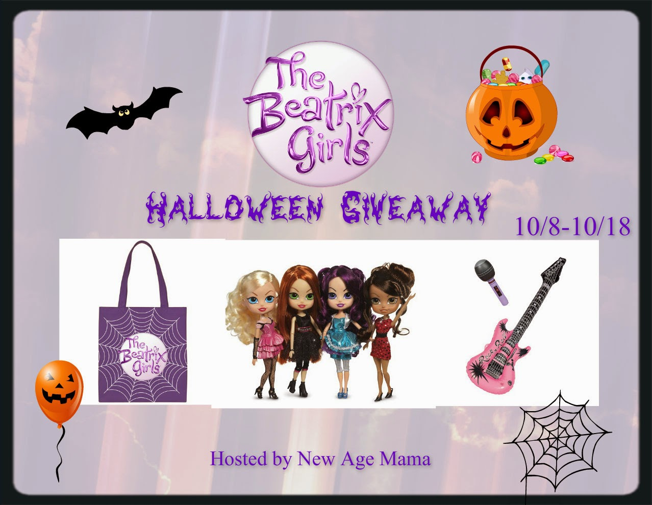 Enter to win the Beatrix Girls Halloween Giveaway. Ends 10/17.
