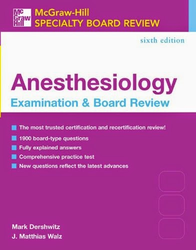 Faust Anesthesiology Review Pdf
