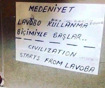 Kocaeli'de Lavaboda Poğaça!