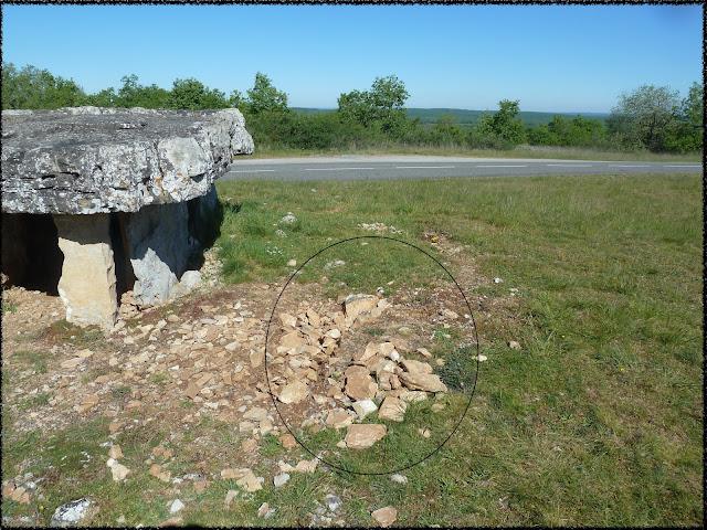 Vénérable mais si fragile: le dolmen de Vaour