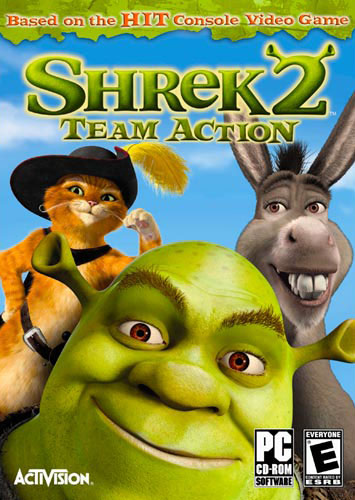 Game Shrek 2 Team Action PC