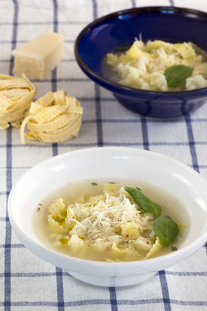 Супа с карфиол и паста