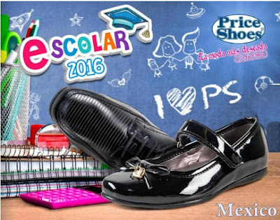 price shoes catalogo escolar 2016