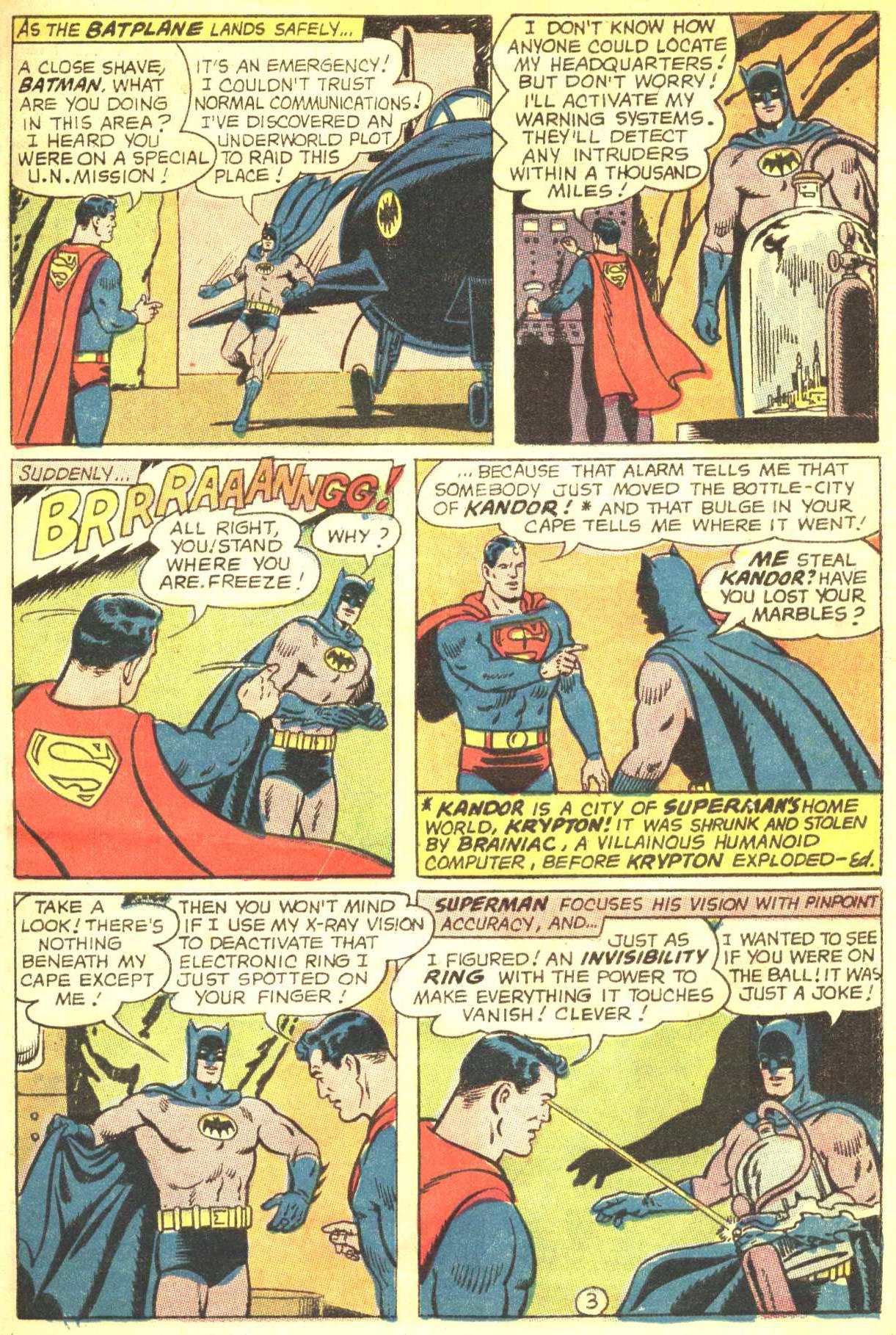 Read online World's Finest Comics comic -  Issue #164 - 5