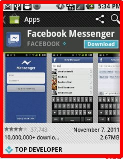 messenger facebook for android download