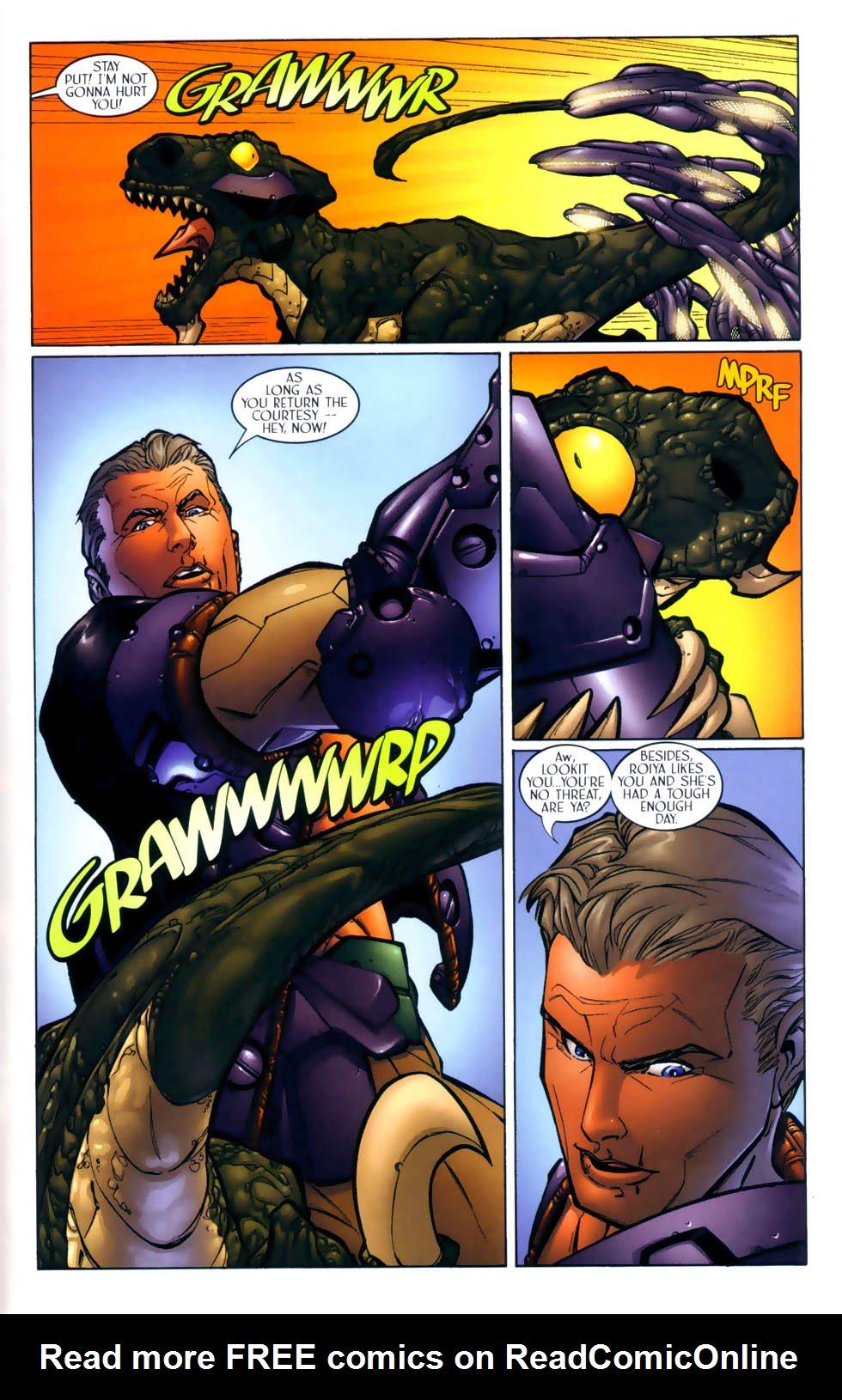 Read online Sigil (2000) comic -  Issue #2 - 22